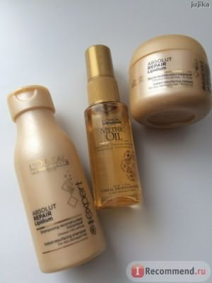Шампунь L'Oreal Professionnel Absolut Repair Lipidium фото