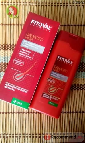 Fitoval Shampoo for damaged hair