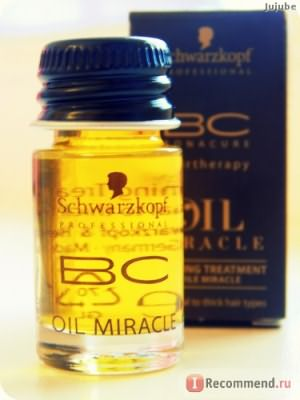 Масло для волос Schwarzkopf Professional BC Bonacure Oil Miracle Finishing Treatment фото