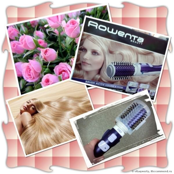 Фен-щетка Rowenta brush activ CF9320 фото