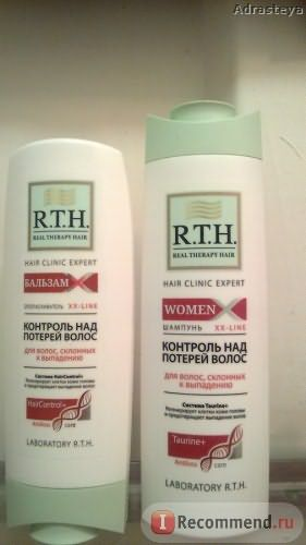Шампунь Real Therapy Hair Women Контроль над потерей волос фото