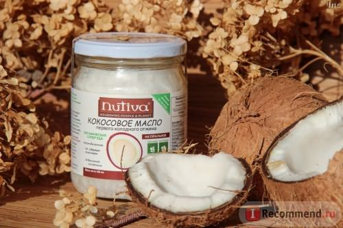 Масло Nutiva Coconut oil Virgin